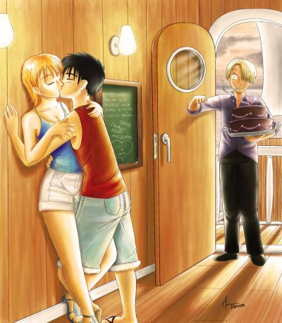 Luffy X Nami Pictures